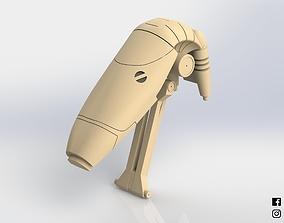 B1 Battle Droid Head Star Wars 3D print model