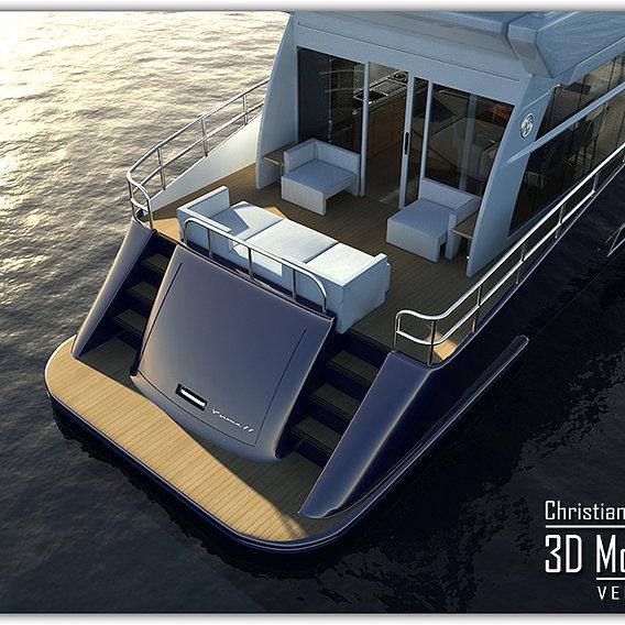 YUMA II - Yacht