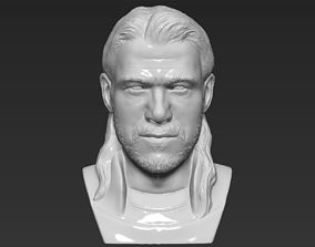 Thor Chris Hemsworth Avengers bust 3D printing ready 1