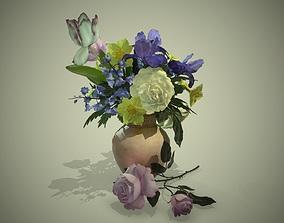 PBR Bouquet Flowers 3D asset