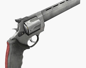 Taurus Raging Bull 454 Casull 3D model