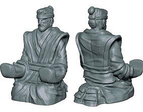 katana samurai holder 3D print model