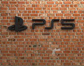 PS5 Logo 3D printable model