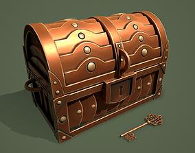 3D asset Bronze Chest