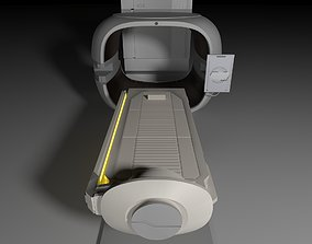 3D model game-ready Sci Fi Medical Pod - Medpod