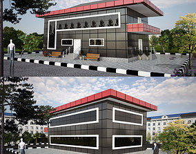exterior bulding 3D model