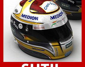 3D Helmet F1 2009 Adrian Sutil