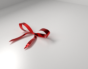 Red Ribbon 2 3D model