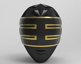 Gold Ranger Helmet from Power Ranger Zeo for 3D