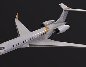 Bombardier Global 7000 3D asset