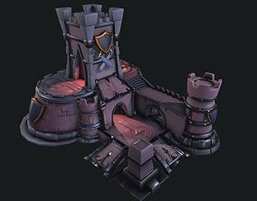 Heroes of the storm Castle 3D
