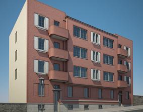 Apartment Building 14 3D