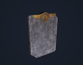3D asset Tablet Rune