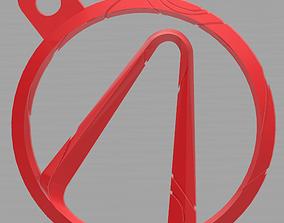 Borderlands Pendant 3D print model