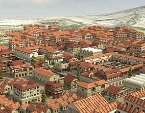 Ancient Town 3D asset