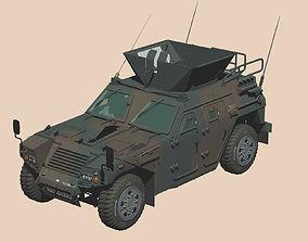 3D Japan Ground Self Defense Force Komatsu light armored