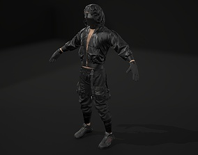 3D Male character high poly