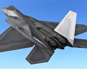 FLY Game-Ready - FA-22 3D asset