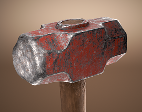 3D model Old Sledgehammer