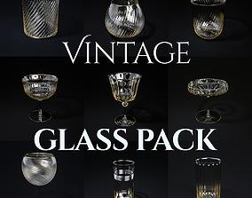 Vintage Glass Pack 3D model