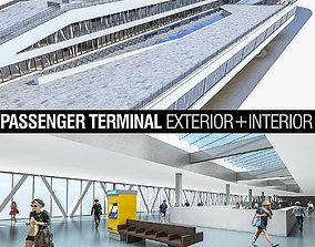 3D model Port Terminal Building