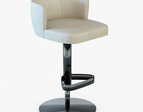 3D model Bar Chair Kelly-Longhi