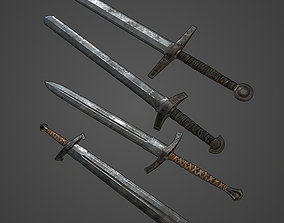 Basic Swords Collection 3D
