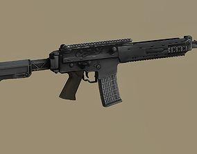 3D model Kalashnikov SR1 Saiga MK 107 balanced action 1