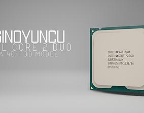 Processor Intel Core 2 Duo 3D model
