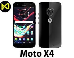 Motorola Moto X4 Supper Black 3D