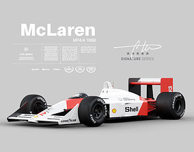 3D model Ayrton Senna McLaren MP44 1988 - Exterior 1