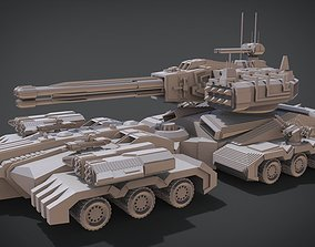 Apocalypse Tank 3D print model