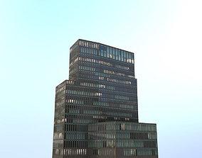 3D model Hamburg Hotelhochhaus Empire