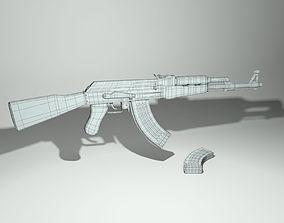 Ak-47 3D military