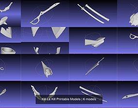 Kill La Kill Printable Models 3D