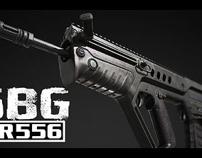 3D model SBG AR556