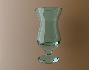 3D model low-poly Glass