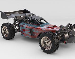RC Car Rigged 3D