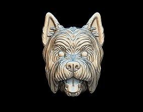 3D print model Dog West Highland White Terrier pendant