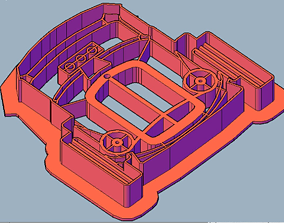 Stl file cookie cutter hot rod for 3D printing
