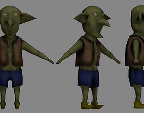Goblin LowPoly 3D asset