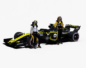 Renault Sport F1 RS18 3D asset