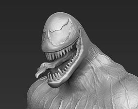 comics Venom 3D printable stl obj formats