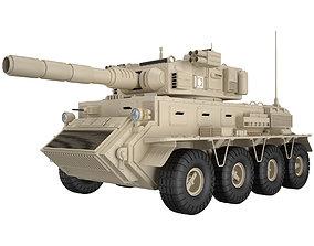 3D War Vehicle Concept 1