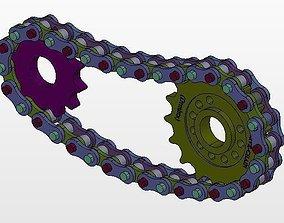 3D model Assm UNICHAIN Drive complete