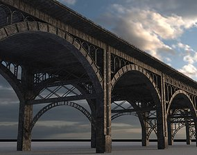 3D model Real Bridge of New York