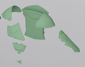 3D print model Injustice 2 Green Arrow armor