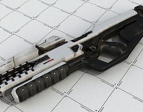 3D model Rail-Gun Rifle