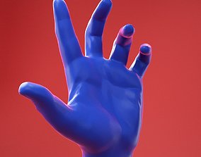Male Hand 9 3D