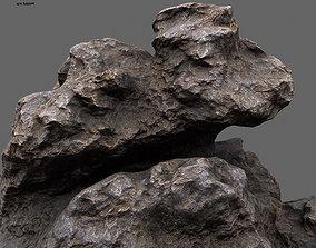 Rocks 3D asset game-ready stone
